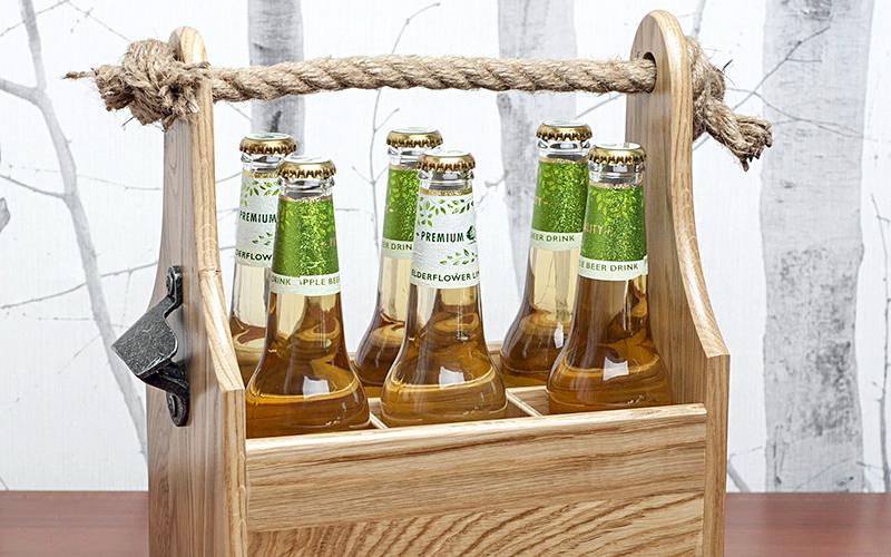 Skrzynka drewniana na piwo, drewniane opakowanie - producent OPIFEX-SKA